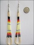Quill Earrings (large) - 3736